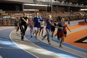 sport à la Halle Diagana