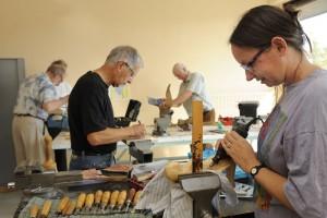 Equipements culturels Atelier bois MJC Duchère
