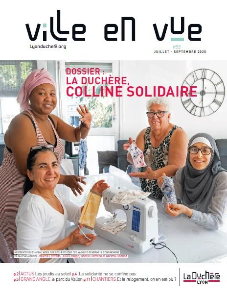Journal Ville en Vue n°53 (juillet à septembre 2020)