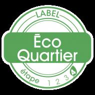 Logo du label Ecoquartier Etape 4