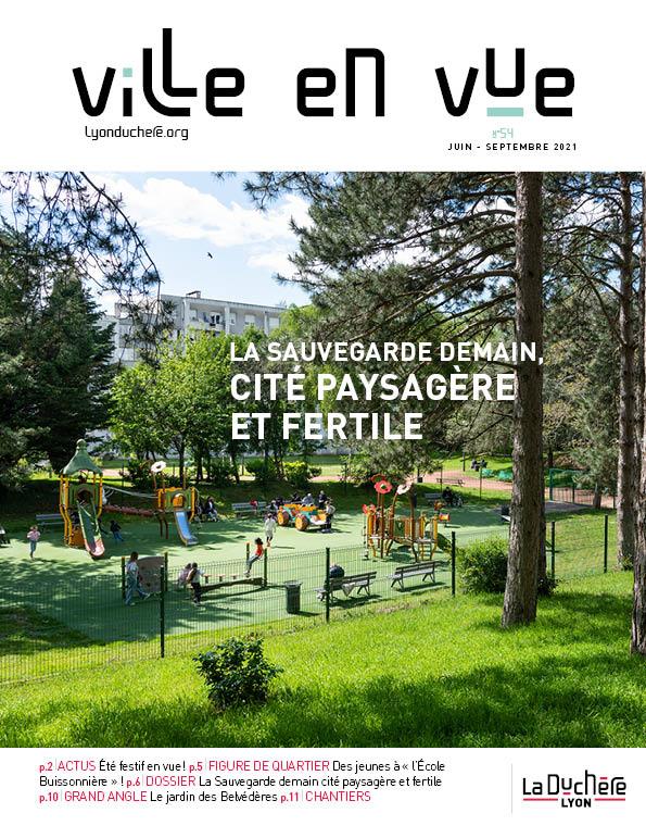 Journal Ville en Vue n°54 (juin à septembre 2021)